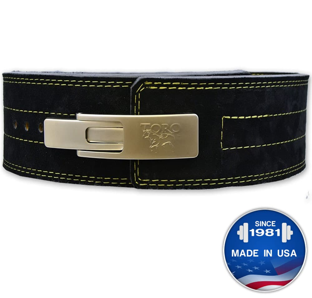 Brahma™ Suede Lever Belt - Titan Support Systems Inc