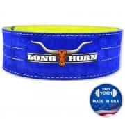 """Longhorn™ Reversible Suede Lever Belt - 4"""""""