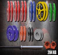 284kg