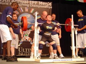 Konstantin Pavlov at 35th Annual IPF Championships