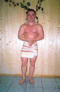 Konstantin Pavlov after weight loss
