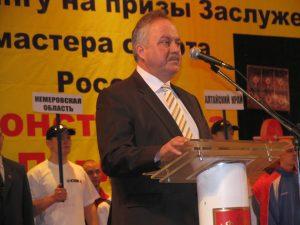 Мэр города Валерий Ермаков