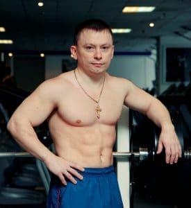 Pavlov Konstantin in training 2011 Moscow